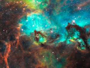 "A Region of the Large Magellanic Cloud(see ""Image Credits"" below)"
