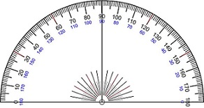 Degrees Angle Protractor